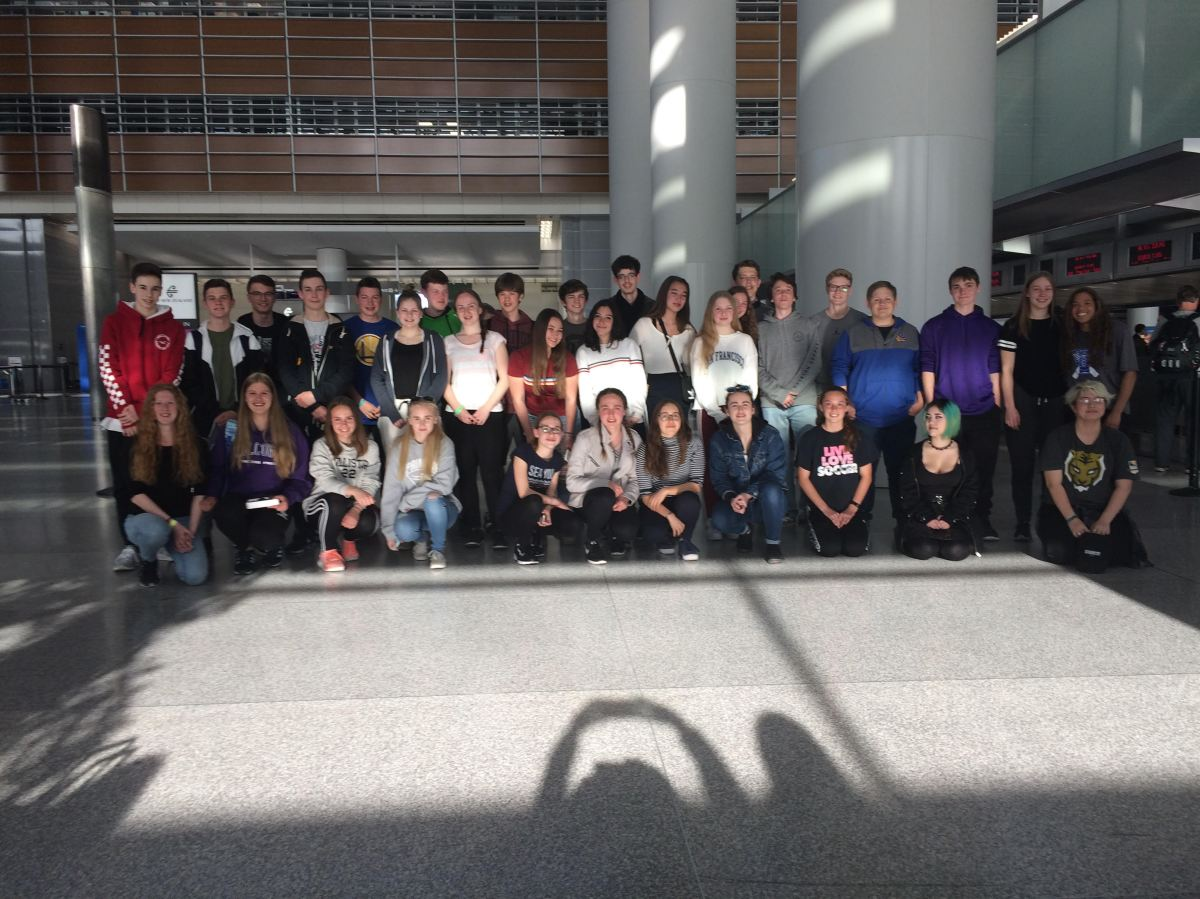German Students Left CP with Insight on American Culture and Schools